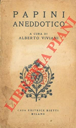 Papini aneddotico.: VIVIANI Alberto) -