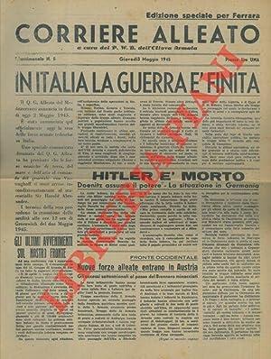 In Italia la guerra è finita. Hitler