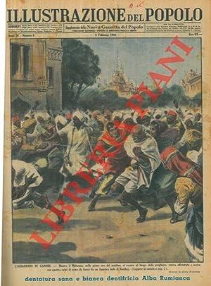 L'assassinio di Gandhi. Mentre il Mahatma, nelle: D'ANTONA Mario -