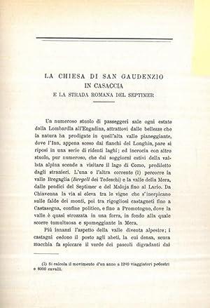 La chiesa di San Gaudenzio in Casaccia: RUSCA Rodolfo -