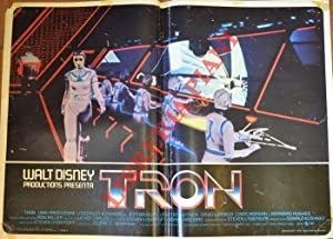 Tron. Con Jeff Bridges.