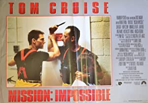 Mission: impossible. Con Tom Cruise.