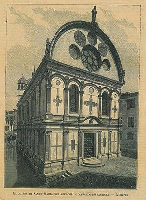 Santa Maria dei Miracoli a Venezia.