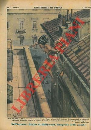 Nuda sui tetti. A Roma, una ragazza: D'ANTONA Mario -