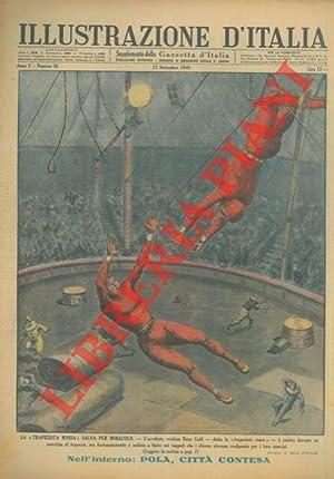 La ?trapezista rossa? salva per miracolo. L'acrobata: D'ANTONA Mario -