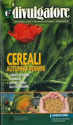 Cereali autunno-vernini.