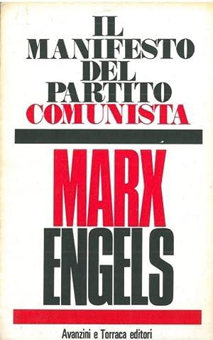 Manifesto del Partito Comunista.: MARX Karl -