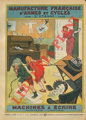 Machines à écrire. Papeterie. Librairie.: Manufacture française d'armes