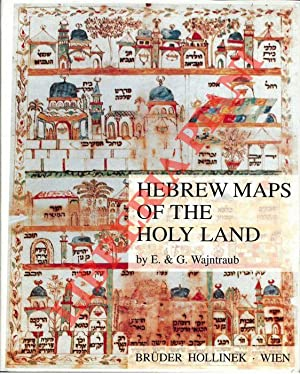 Hebrew Maps of the Holy Land.