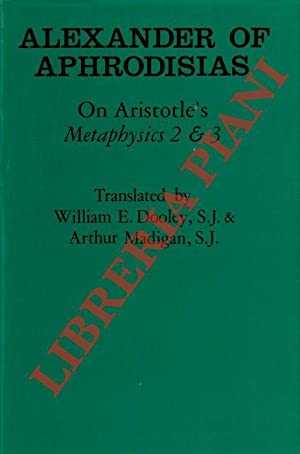 On Aristotle's Metaphysics 2 & 3.