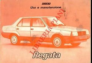 Fiat Regata. Uso e manutenzione.