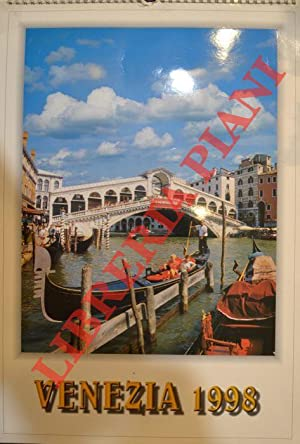1998 Calendario.Venezia 1998 Calendario