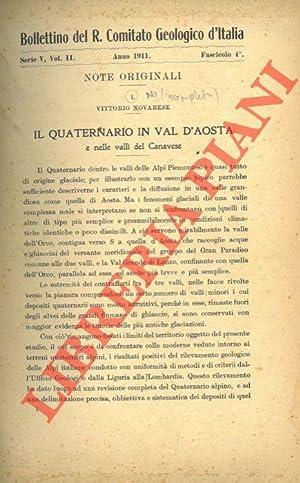 Il quaternario in Val d'Aosta e nelle: NOVARESE Vittorio -