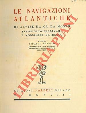 Le navigazioni atlantiche di Alvise da Cà: CADDEO Rinaldo) -