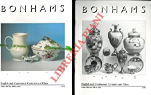 English and Continental Ceramics and Glass.