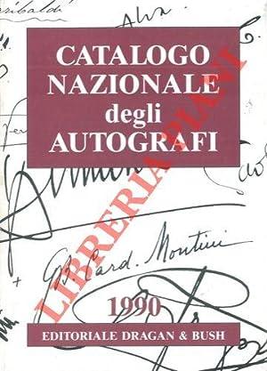 Catalogo nazionale degli autografi. Oltre 2000 nominativi di italiani illustri dal 1600 ai giorni ...