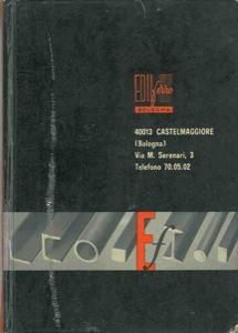 Prontuario dei pesi teorici dei ferri laminati: Edilferro. Bologna -