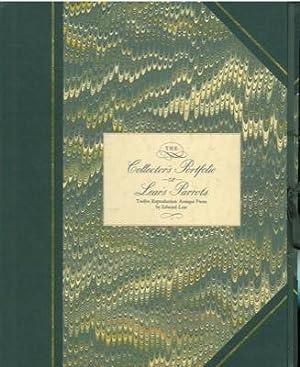 Lear's parrots. Twelve reproduction antique prints .: MARRIOTT Jean -