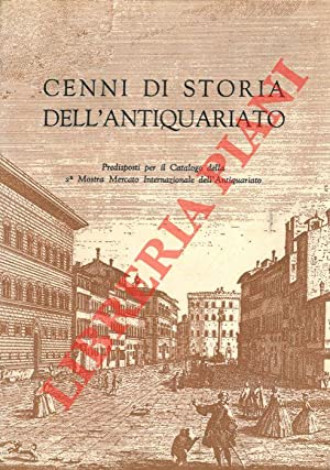 Cenni di storia dell'antiquariato.