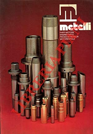 Parti motore. Engine parts. Pieces de moteur. Motorenteile. Catalogo 1981.