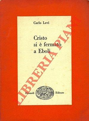 Cristo si è fermato a Eboli.: LE(Letteratura italiana)VI Carlo