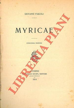 Myricae.: PASCOLI Giovanni -