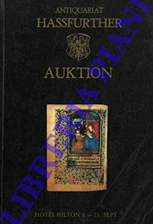 Antiquariat Hassfurther. Auktion.
