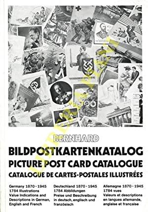 Bildpostkartenkatalog. Picture Post Card Catalogue. Catalogue de cartes-postales illustrées. Germ...