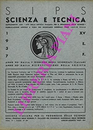 Per la ricerca scientifica.