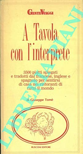 A Tavola con l'interprete.