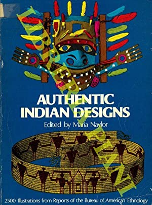 Authentic Indian Designs. 2500 Illustrations from Reports of the Bureau of American Ethnology.