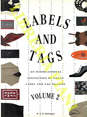 Labels & tags. An international collection of great label and tag design. Volume 2.