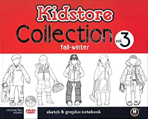 Kidstore Collection. Vol. 3. fall-winter. Sketch & Graphic Notebook.