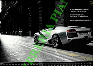 Official Calendar 2009. Gallardo LP 560-4 and all the city's eyes are on you.