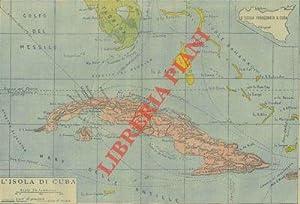 L'isola di Cuba (carta geografica).