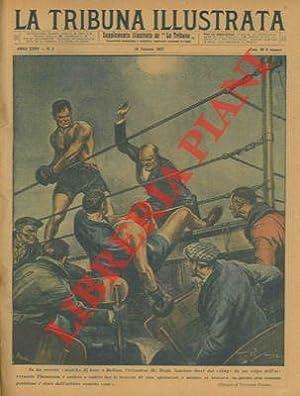 """In un recente """"match"""" di boxe a: PISANI Vittorio -"""
