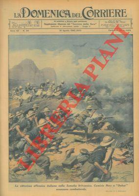 """Nella Somalia Britannica le Camicie Nere e """"Dubat"""" avanzano combattendo.: BELTRAME A. -"""