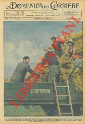 Salutate il primo grano di Littoria -: BELTRAME A. -