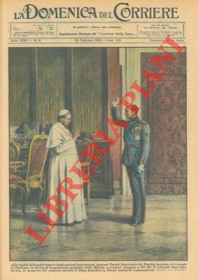 Alla vigilia dell'anniversario degli accordi lateranensi, il: BELTRAME A. -