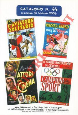 Cataloghi di vendita di fumetti e figurine.: Mencaroni. Bari -