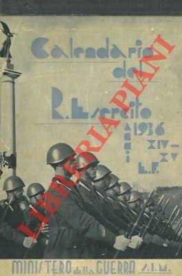 Calendario 1936.Calendario Del R Esercito Abebooks