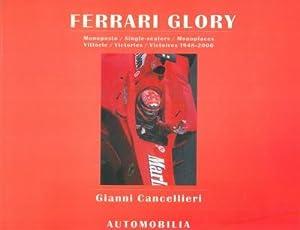 Ferrari glory. Monoposto - Single-seaters - Monoplaces.: CANCELLIERI Gianni -