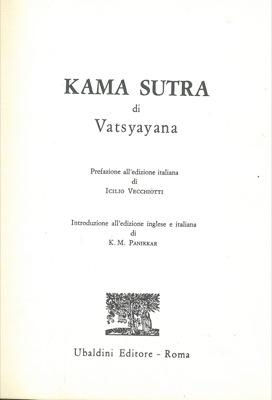 Kama Sutra.: VATSYAYANA -