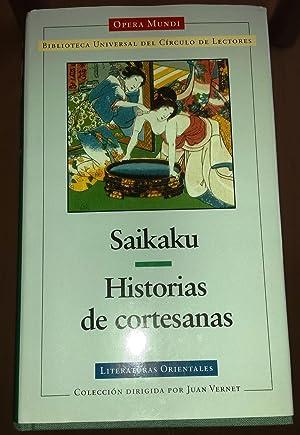 HISTORIAS DE CORTESANAS.: SAIKAKU.