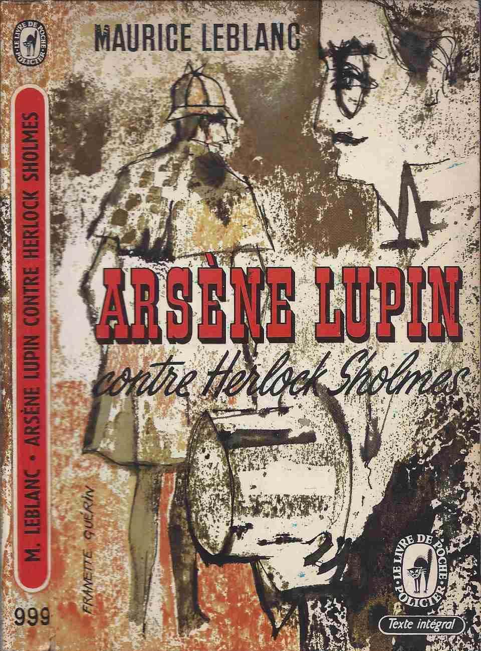 Arsène Lupin contre Herlock Sholmès - LEBLANC Maurice