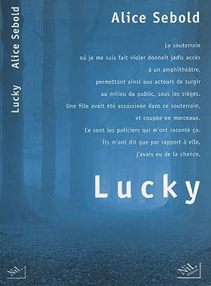 Lucky: SEBOLD, ALICE Demange,