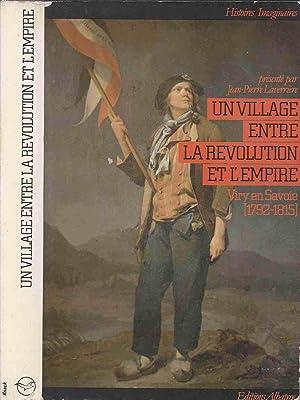 Un village entre la Révolution et l'Empire: Laverrière Jean-Pierre