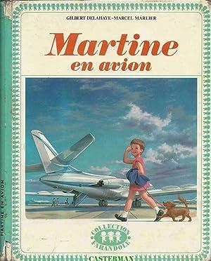 Martine en avion: DELAHAYE Gilbert ,