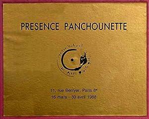 PRÉSENCE PANCHOUNETTE 13 MARS - 30 AVRIL: SOULILLOU, Jacques et