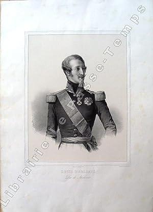 Louis d'Orléans, Duc de Nemours.: Orléans / WINTERHALTER (Franz Xaver)(1805-1873) et (...